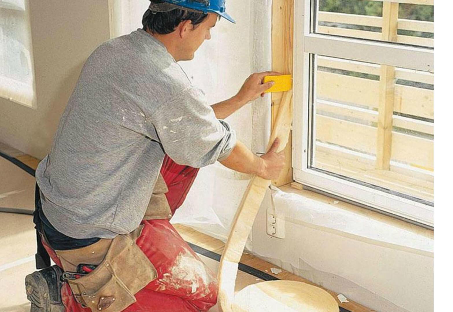 Утепление пластиковых, алюминиевых и деревянных окон в москв.